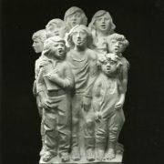 Singing children. 1979. Marble