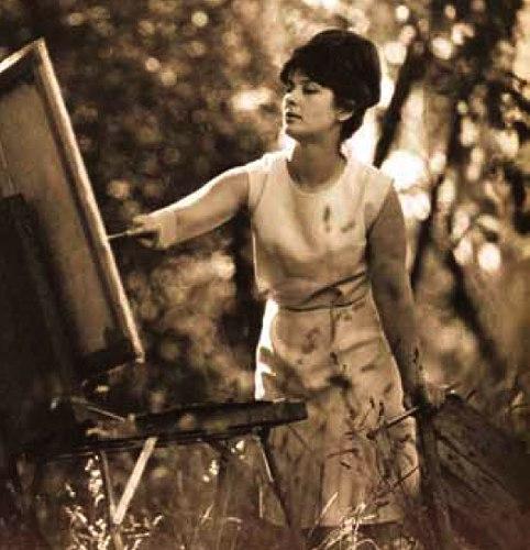 Soviet Ukrainian artist Tatyana Golembiyevskaya