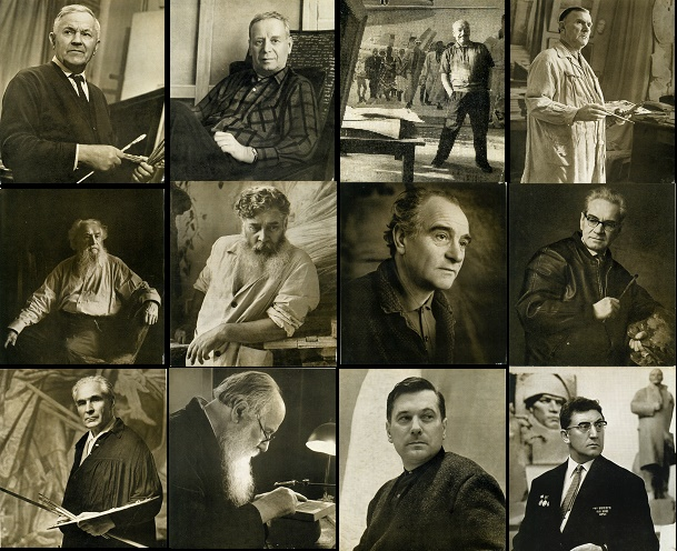 Soviet artists Lenin Prize Laureates