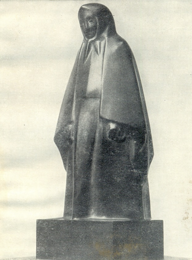 Standing Old woman. 1915