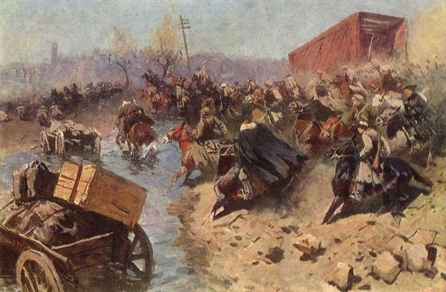 The First Horse Under Voronezh. October of 1919. The State Museum of the Revolution of the USSR