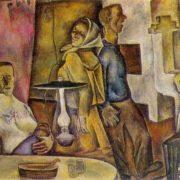 The Vologda chastushki. 1969. Oil on canvas