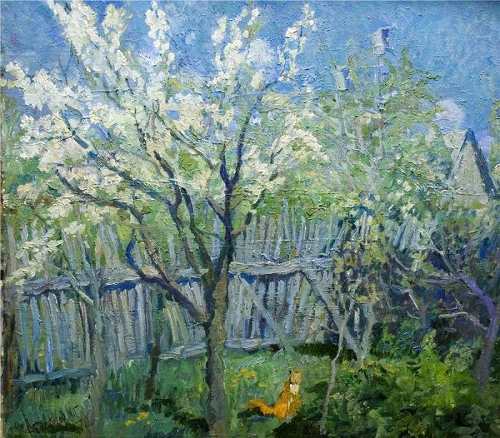 The plum blooms, 1979