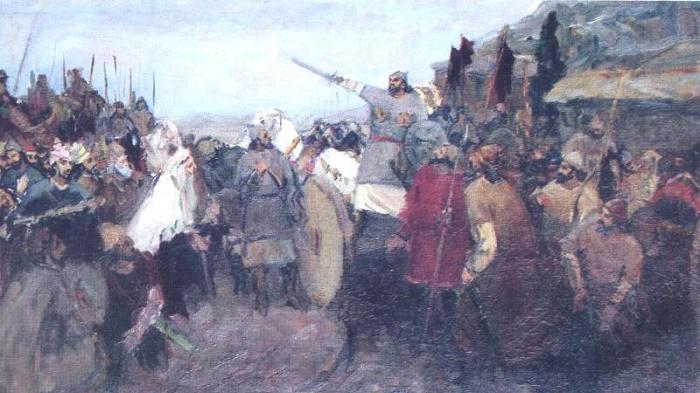 The rebellion of Babek. 1939-1940