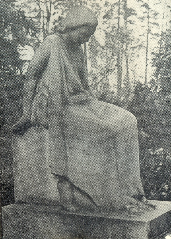 The tomb of F. Druv. 1930s