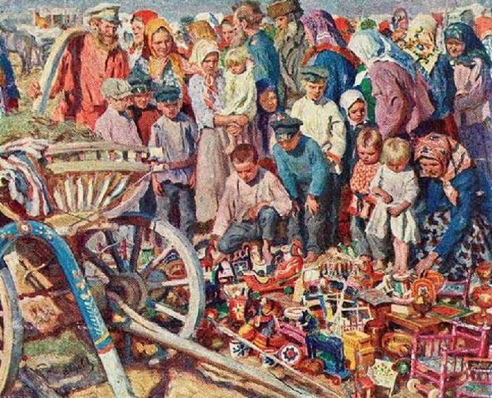 Toys. Fair. 1914