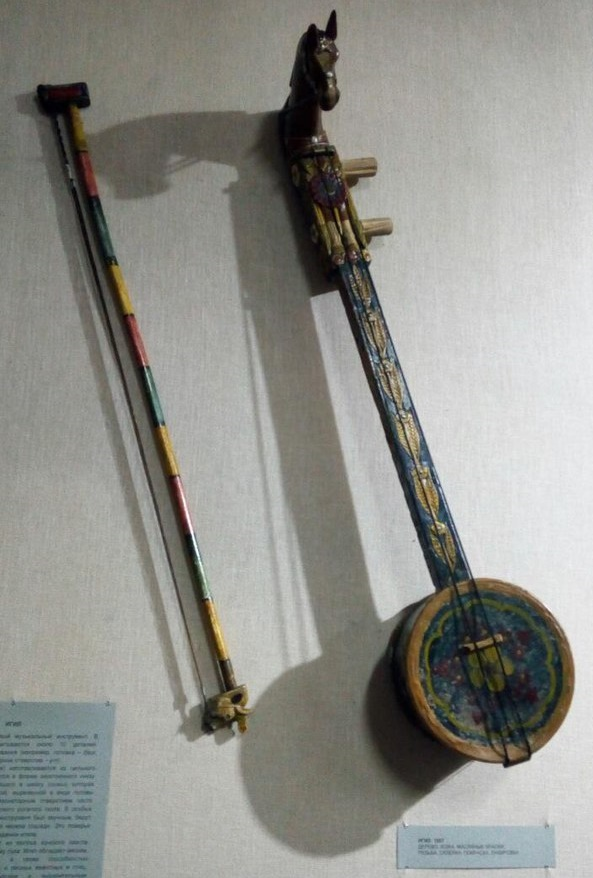 Traditional music instruments made by the master