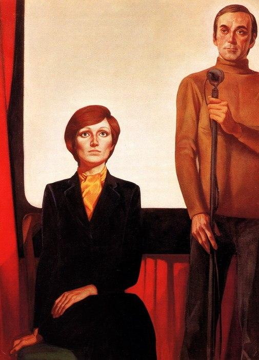 Triptych 'Cinema'. The premiere
