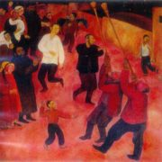 Uzbek wedding. 1968. Oil, canvas