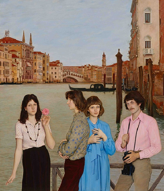 Venice. 1983. Oil, canvas