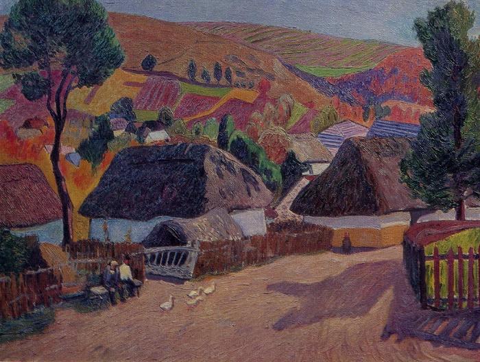Village. 1963. Oil on canvas