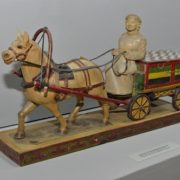 Carriage with melted butter