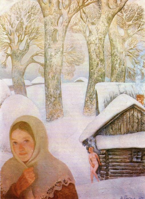 White snow. 1975