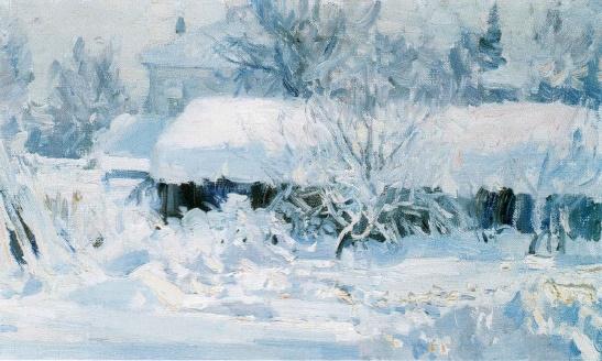 Winter morning. 2001