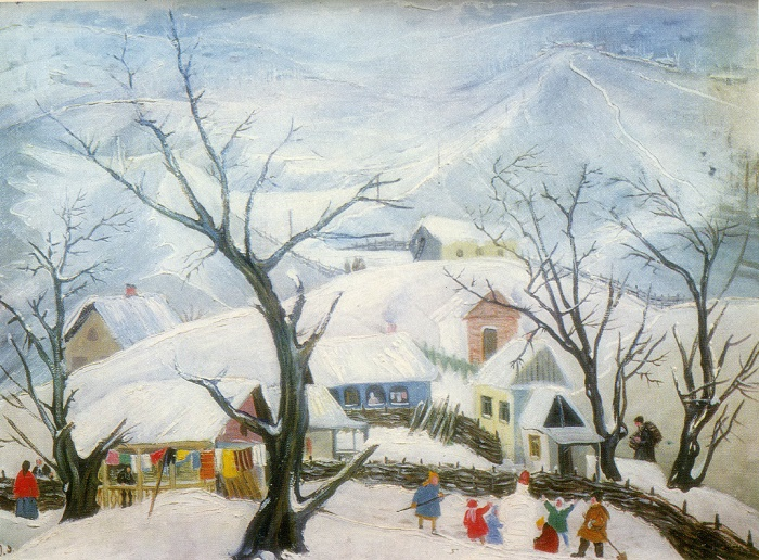 Winter. 1960. Oil, canvas