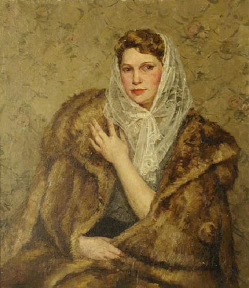 Woman's portrait. 1950
