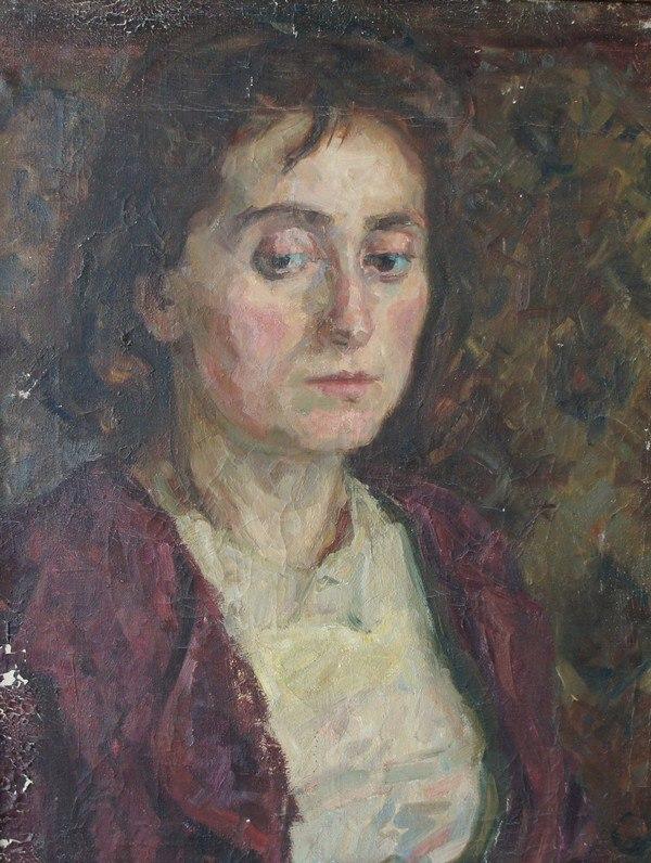 Woman's portrait. 1953