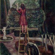 Zhukovka. Cut the trees. 1978