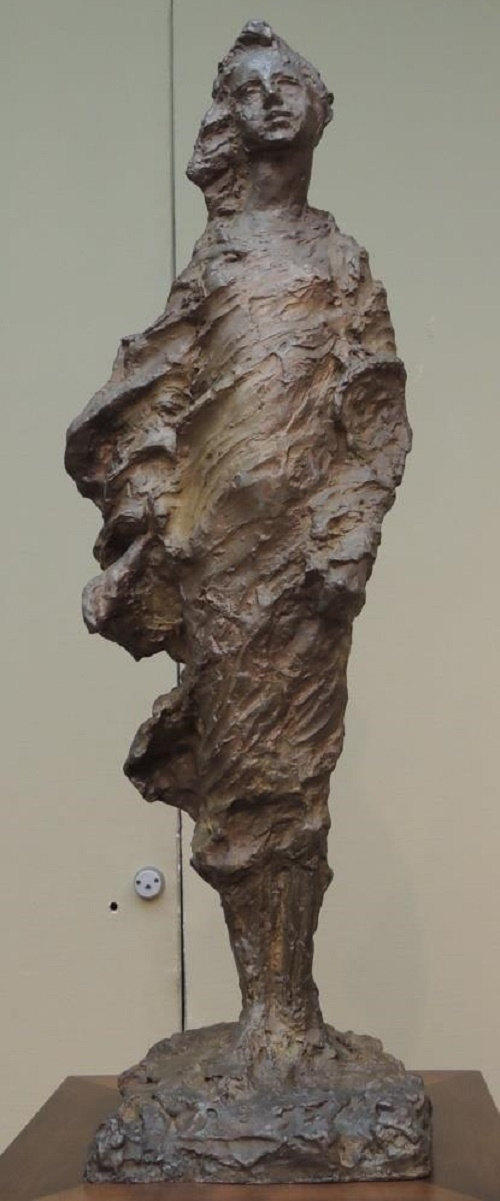 Berezka (little birch tree). Bronze. 1927. The State Tretyakov gallery