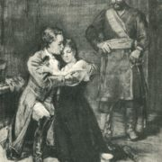 Alexandr Pushkin's 'Captain's daughter. illustration