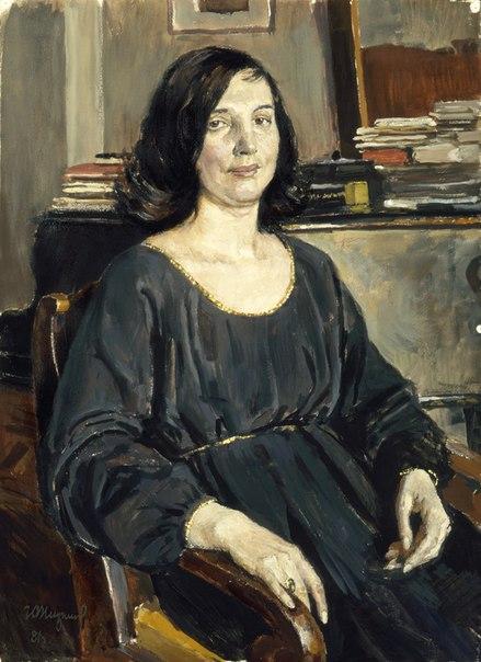 Art critic Galina Konstantinovna Staritsyna
