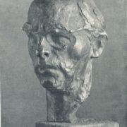 Artist O.G. Bordey. 1967. Bronze, granite