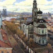 Ascension Cathedral (Voznesenskaya Hill). 1981
