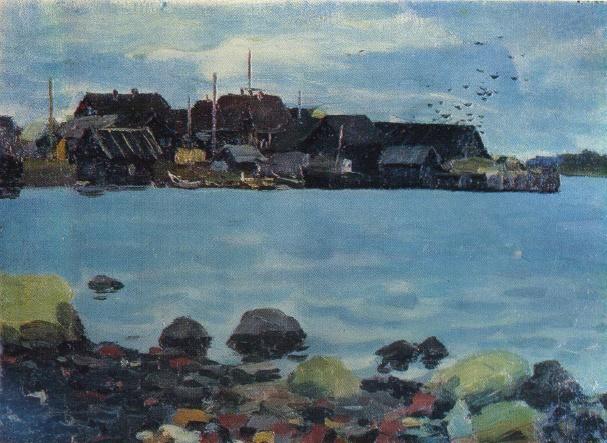 Autumn Velikaya Guba. 1959