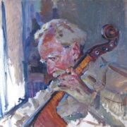 Blind musician Dormidontov