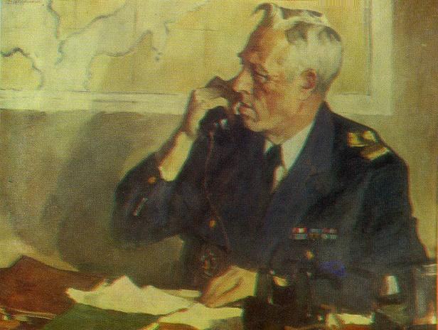 Captain of the Murmansk Fish Port M.M. Eparin. 1966