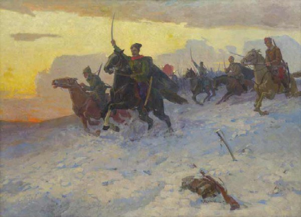 To attack! Chapaev. 1968