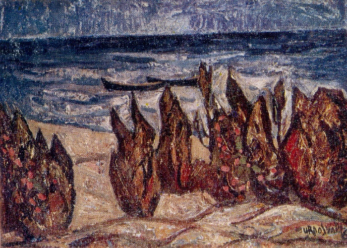 Coast. 1967. Oil, canvas