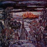 Soviet painter Viktor Yefimovich Popkov 1932-1974