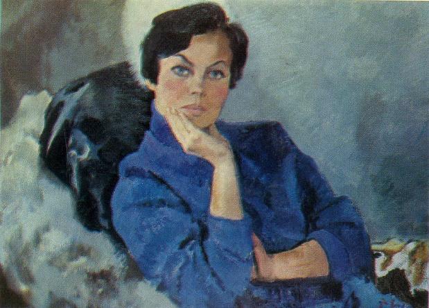 Cosmetologist A. Sakeranskaya. 1970