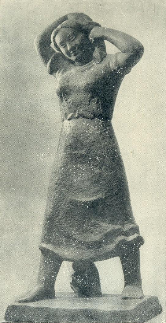 Country girl. Gypsum. 1940-1941