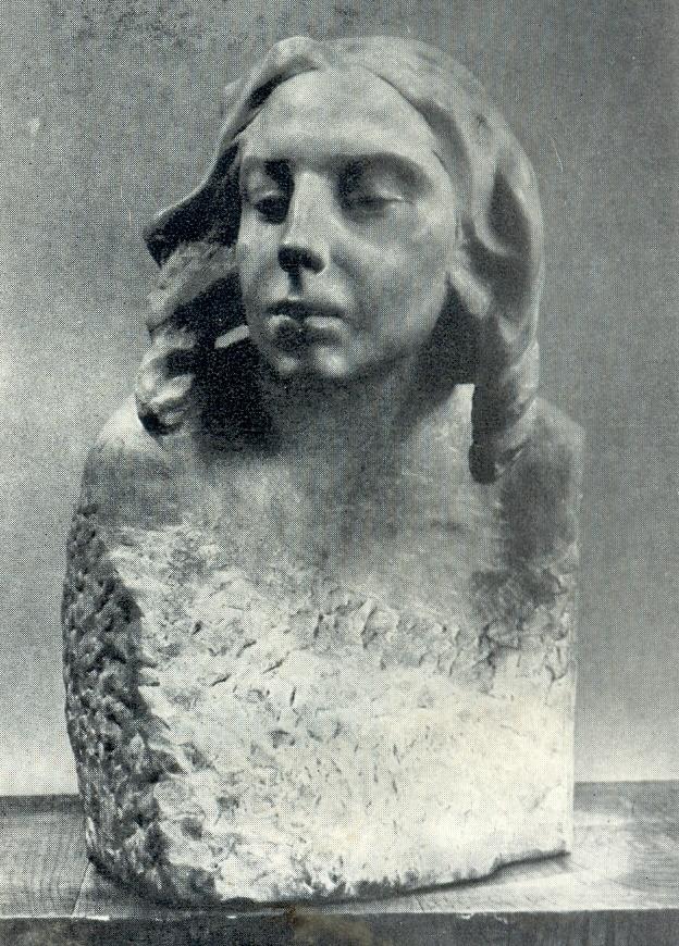 E.D. Nikiforova. 1909. Marble