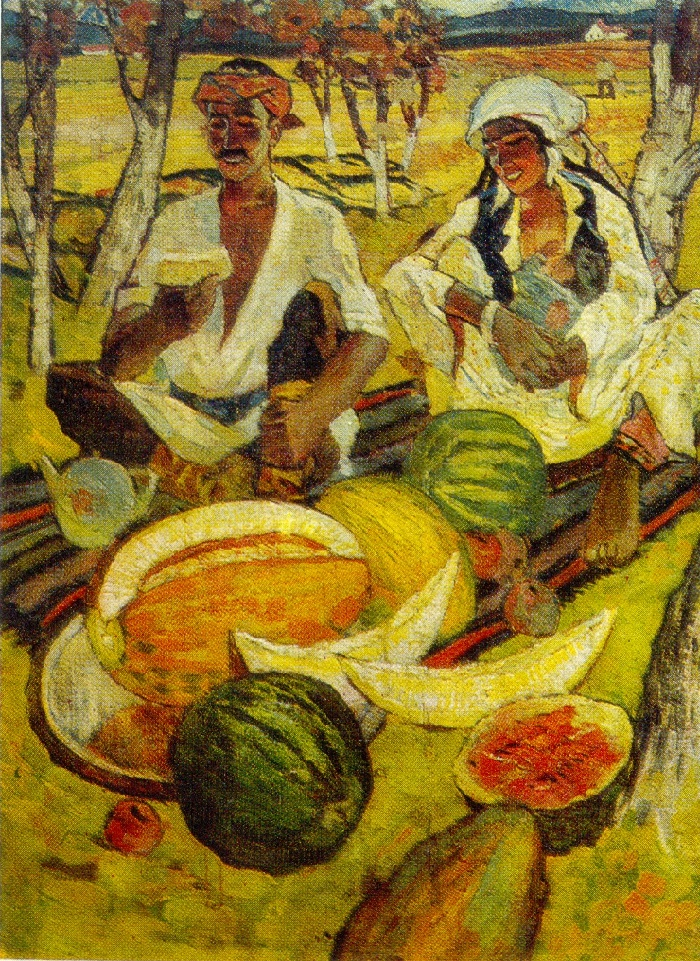 Harvest. 1975. Oil, canvas