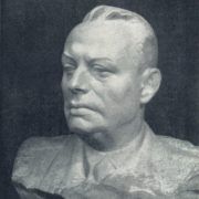 Hero of the Soviet Union, Lieutenant-General I.D. Ivliev. 1963. Marble