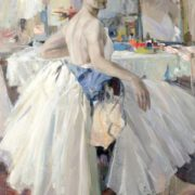 Honored Artist of the RSFSR ballerina L.Ratenko, 1967