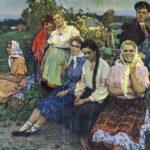 Soviet artist Leonid Andreyevich Fokin 1930-1985
