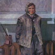 Katya Baltina, portrait. 1959