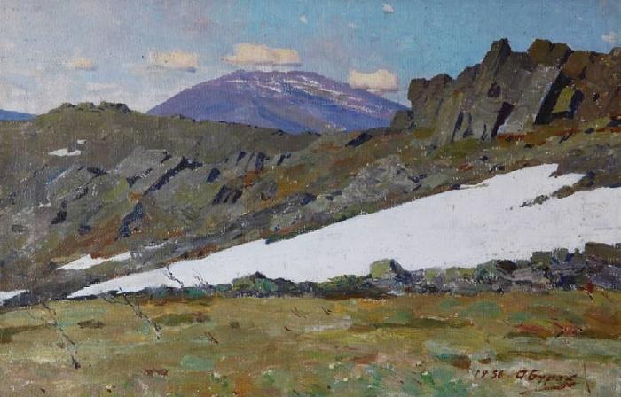 Konzhakovsky stone, 1956