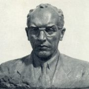 Laureate of the Lenin Prize Academician G.A. Razuvaev. 1959. Bronze