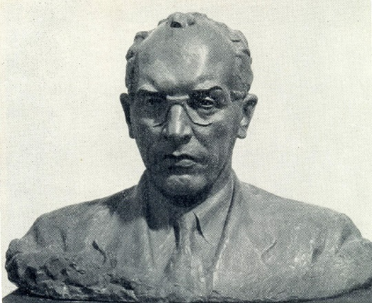 Laureate of the Lenin Prize Academician G.A. Razuvaev. 1959. Bronze