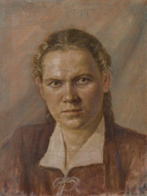 Lyuba Ovchinnikova. 1951