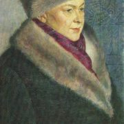 M.A. Tikhomirova, the artist's wife