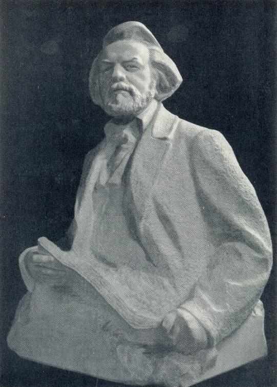 M.I. Glinka. Marble. 1963
