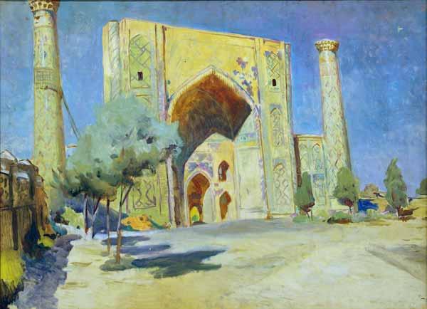 Madrassah of Ulugbek. 1965