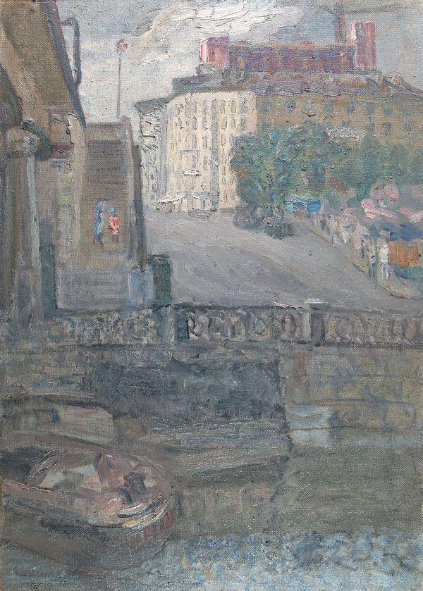 Moscow. Matrosskaya Tishina Street