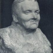 Mother's portrait. Marble. 1963